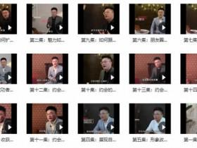 靓男《旭旭私教3.0- 靓男私人订制》视频教程