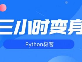 职业技能《快速掌握python技能》视频教程