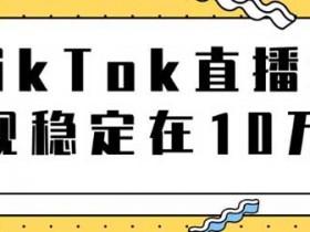 短视频副业《TikTok直播导流独立站转化实操讲解》图文教程