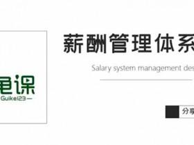 职业提升《薪酬管理体系设计》视频教程